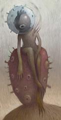metarhizium (dhearone) Tags: art illustration digital oil metarhizium dhear