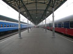 Moskva Belorusskaya train station (Timon91) Tags: station train smog russia moscow railway moskva belorusskaya trainamsterdammoscow