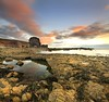 A Lovely Morning... (i.rashid007) Tags: uk morning england seascape sunrise northeast sunderland whitburn vertorama whitburnarch leegrad06s