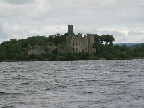 Castle Island, seen from Lough Key