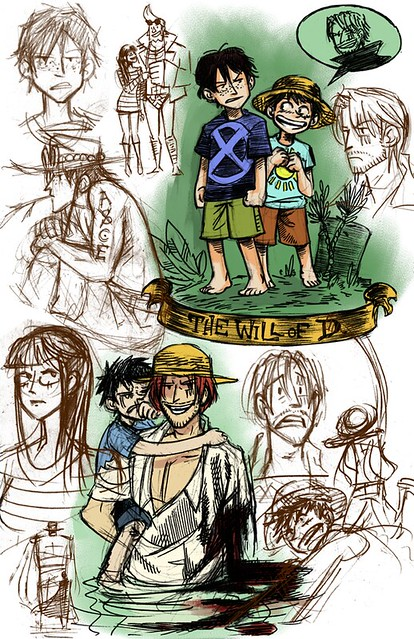 One Piece sketches 8.8.10