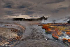 Iron Creek (Patrick N. Oglesby) Tags: autumn clouds landscapes steam geysers runoff yellowstonenp thehighlander godlovesyou coth cliffgeyser theunforgettablepictures absolutelystunningscapes yourwonderland coth5 mygearandmepremium mygearandmebronze mygearandmesilver mygearandmegold mygearandmeplatinum mygearandmediamond