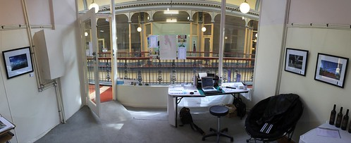 My SALA Stall - Front of House Panorama by Stephen Mitchell, on Flickr