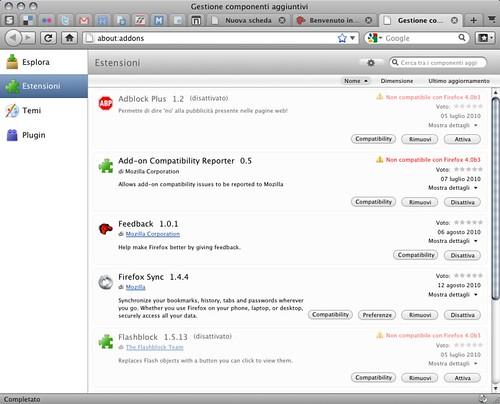 Firefox 4.0b3 - Macintosh