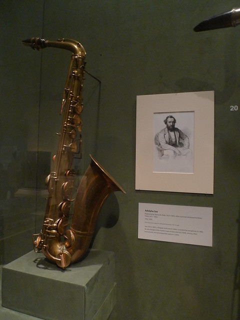 World's first sax
