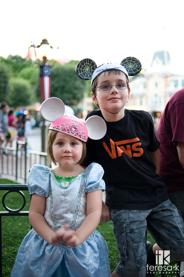 Teresa Klostermann, Folsom photographer, Mikey Mouse ears in Disneyland