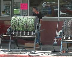 Green Chile Roasting Season (Peregrine61) Tags: city newmexico raton business greenchile colfaxcounty