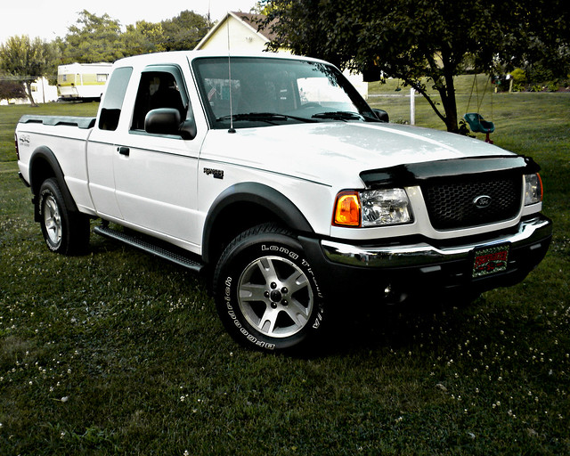 road 2002 ford ranger 4x4 off