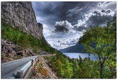 road Rv 9 (Mariusz Petelicki) Tags: road norway norge fiord hdr droga 3xp norwegia mariuszpetelicki