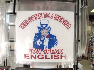 Welcome to America, indeed