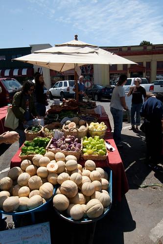 Arcata farmers market