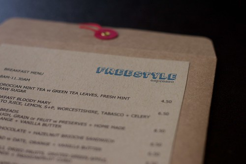freestyle espresso menu