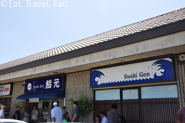 Sushi Gen Exterior