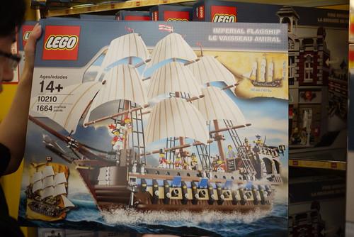 LEGO10210官兵船