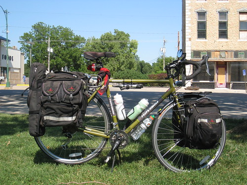 My cross-country touring gear, right side