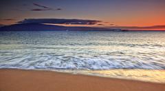 Ka'anapali Sunset (Shannon Cayze) Tags: ocean sunset beach water landscape hawaii sand scenic maui shannon 5d canon5d canonef2470mmf28lusm circularpolarizer blackrock kaanapali 2470mm gnd bwcircularpolarizer graduatedneutraldensity cayze 5dmarkii canon5dmarkii shannoncayze hitech3stopgnd singhray3stopreversegnd