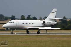 CS-DTF - 102 - Private - Dassault Falcon 2000EX - Luton - 100812 - Steven Gray - IMG_1428