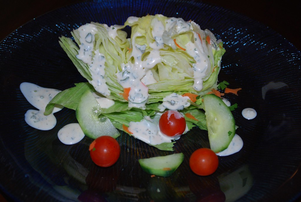 Wedge Salad w/Homemade Ranch