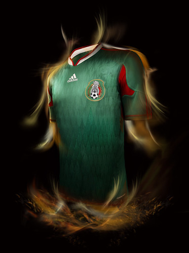 playera adidas seleccion mexicana tricolor