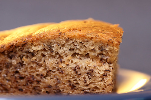 Macro-Banana bread
