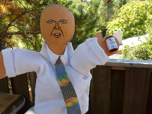 Rush Limbaugh puppet