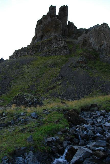 Colina próxima a Núpsstaður