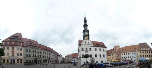Plaza del Ayuntamiento de Pirna