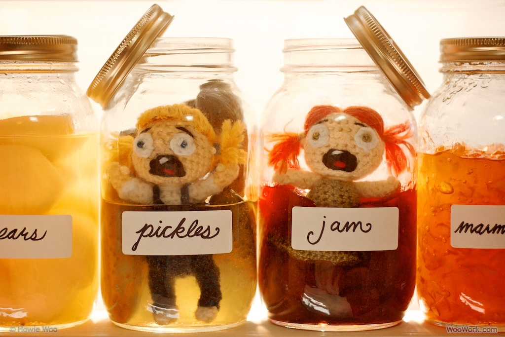 The Trouble Sisters in a Pickle and in a Jam