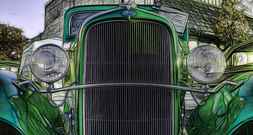 1932 Ford Hot Rod Fractalius 2