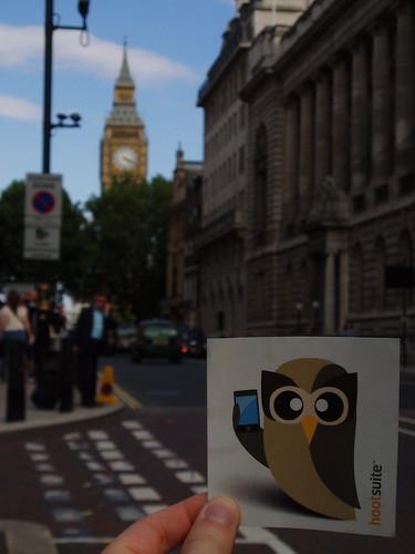 Owly in London