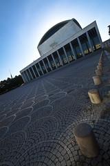 Eur, palazzo dei congressi (Gian.luca) Tags: rome architecture san eur palazzo grandangolo architettura congressi prospettiva pietrino
