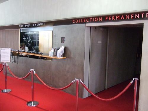 Photo diaporama - Entrée du musée et accueil audioguide