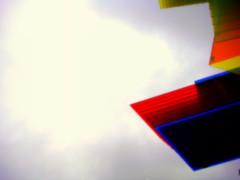 The Fourth Plinth (KJGarbutt) Tags: city uk greatbritain blue red sculpture colour london art yellow square photography unitedkingdom sony united capital trafalgar kingdom cybershot kurtis fourth plinth sonycybershot garbutt kjgarbutt kurtisgarbutt kurtisjgarbutt kjgarbuttphotography