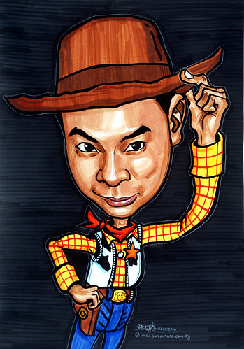 Toy Story 3 caricature - Woody