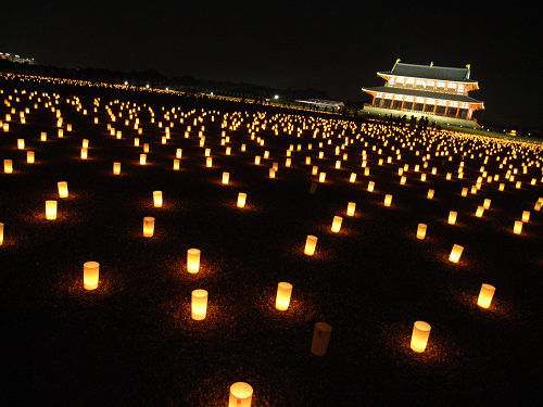 平城宮跡夏季フェア「光と灯りのフェア」-21