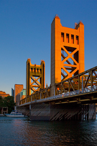 Tower Bridge over the Sacramento River