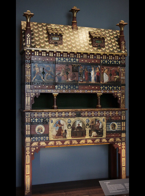 Cabinet - William Burges, 1858