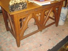 """Gothic Side Table • <a style=""""font-size:0.8em;"""" href=""""http://www.flickr.com/photos/51721355@N02/4913074269/"""" target=""""_blank"""">View on Flickr</a>"""