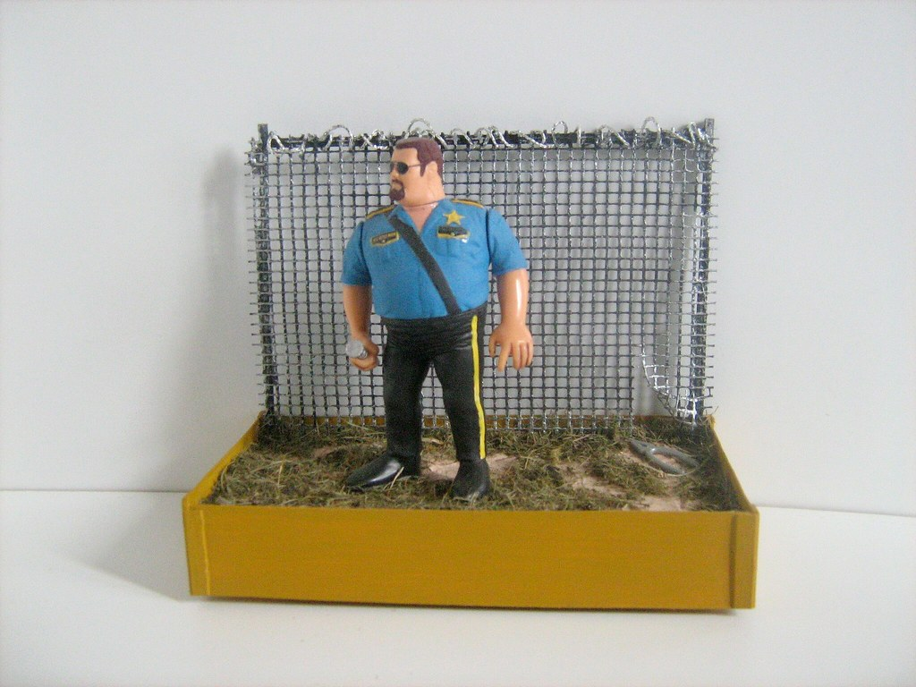 Hasbro Toys: Big Boss Man WWE Figure - 1 of 2