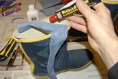 200910_D208670 (good_on_feet) Tags: boots welly wellies remake galoshes reparing stvlar gummistvlar reparera kastade seglarstvlar upphittade slngda