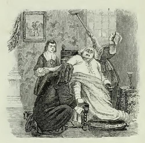 Podagra et Aranea
