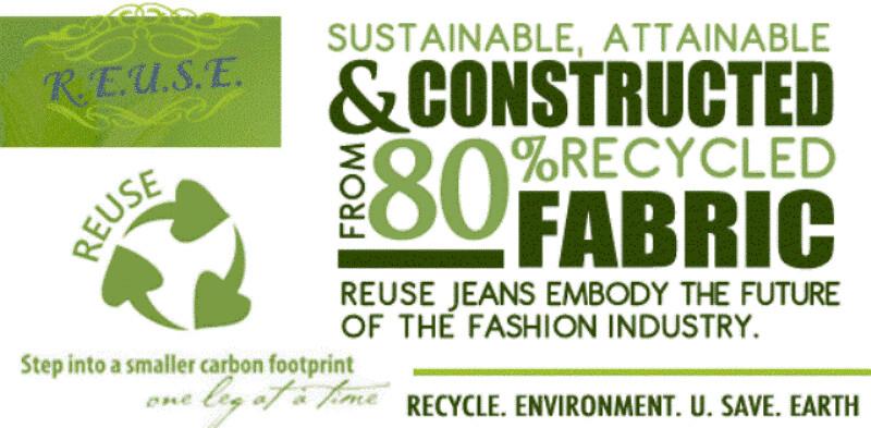REUSE Jeans banner