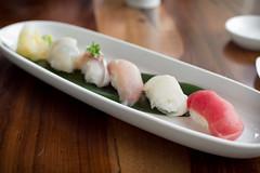 sushi sampler (embem30) Tags: food restaurants napa winecountry morimotonapa