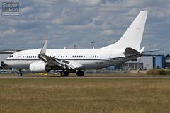 A6-AIN - 29268 - RoyalJet - Boeing 737-7Z5 BBJ - Luton - 100721 - Steven Gray - IMG_8879