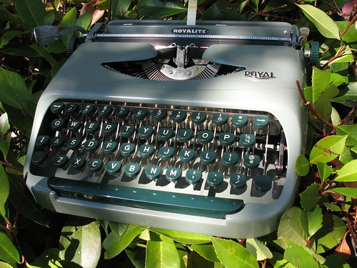 """Kermit"", Royal Royalite typewriter, c. 1958"