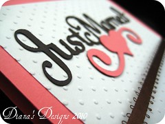 Just Married Wedding Card