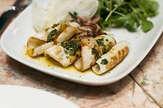 Mezzaluna Calamari (nicknamemiket) Tags: nyc food newyork restaurants pasta pizza ues foodporn squid gelato shellfish lula bigapple italianfood uppereastside calamari mezzaluna calamares  rarefind  mezzalunarestaurant foodofitaly