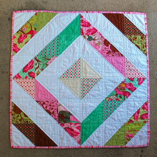 doll quilt front