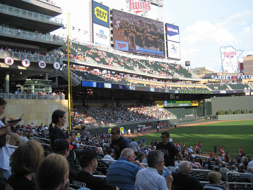 target field seating chart 2011. 2011 Visits Target Field For