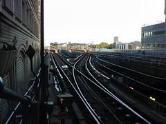 Canary Wharf DLR tracks